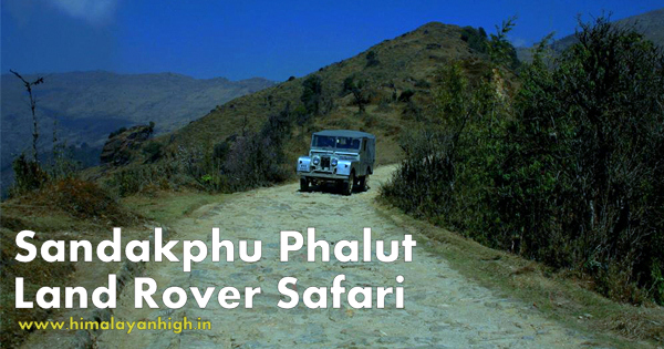 Sandakphu Phalut Land Rover Safari ( Guided )