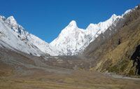 nanda devi east base camp and milam glacier trek details