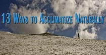 13 Ways to Acclimatize Naturally
