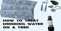 How To Treat Drinking Water On A Trek