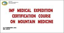 IMF Medical Expedition - Certification course on Mountain Medicine